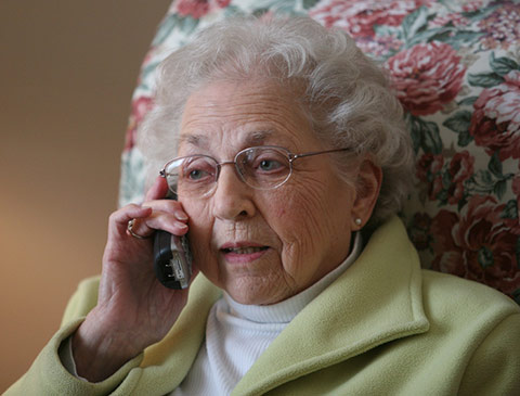 Resources for seniors who are isolated