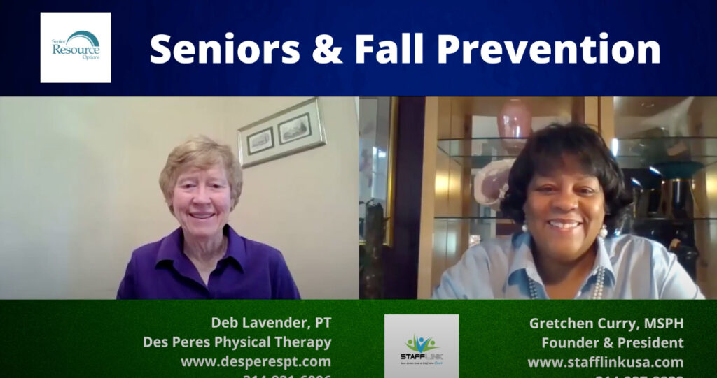 caregiver tips seniors falls fall prevention