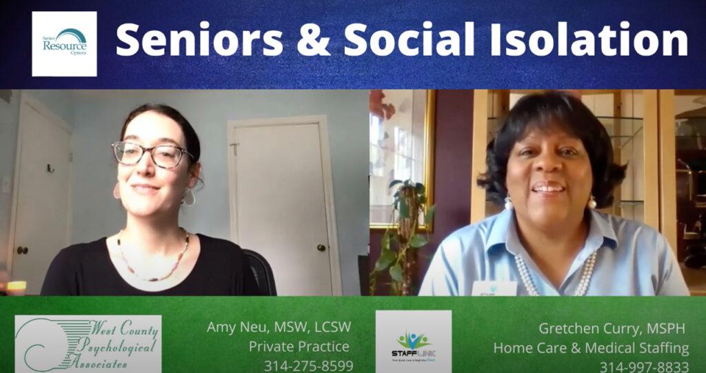 seniors social isolation